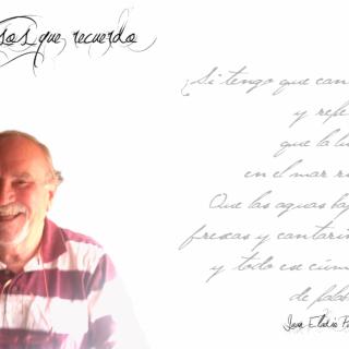 """Juan Eladio Palmís: """"Todo poeta, al final es un mensaje""""."""
