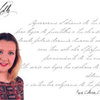 """Rocío Calderón Conesa: """"…a veces comparo mucho la poesía con el piano o el violín, veo ambos instrumentos igual de indispensables para la armonización de la vida que una buena poesía""""."""