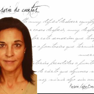 """Rosario López Benavente: """"Escribir es una necesidad y un inmenso placer, tanto… que a veces me tiemblan las manos""""."""