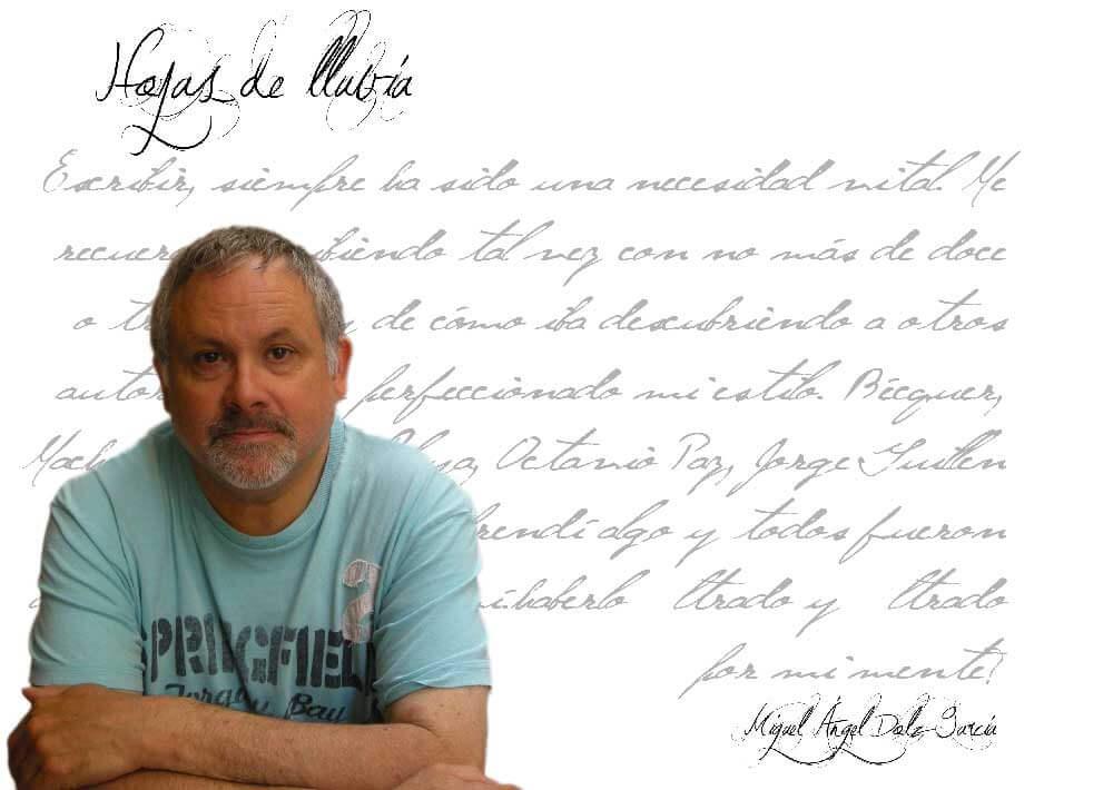 """Miguel Ángel Dolz: """"…todo lo que vamos leyendo va dejando su poso lo sepamos o no"""""""